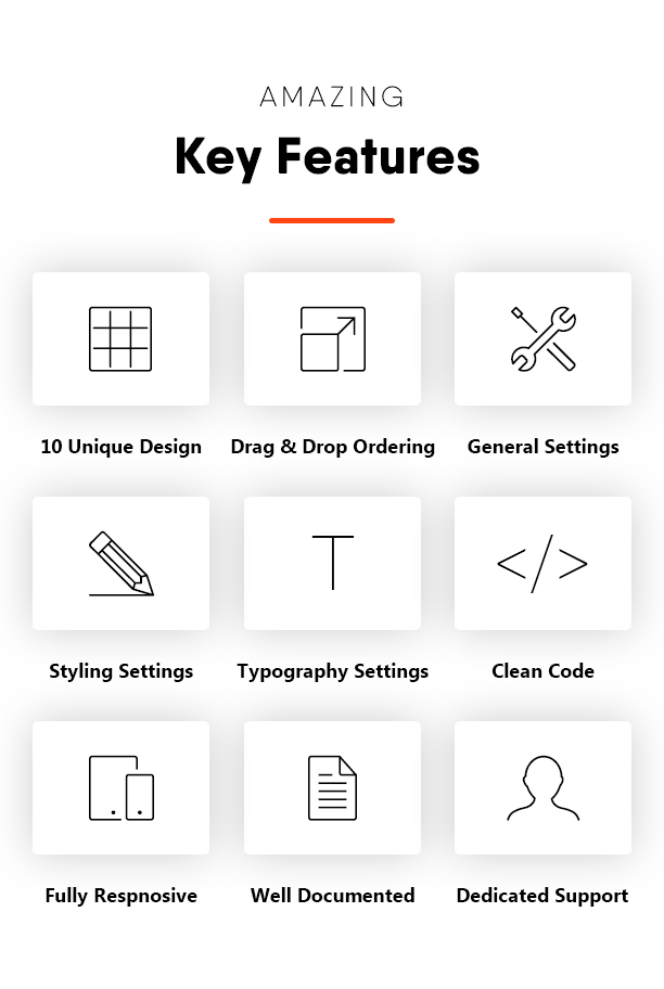 Amazing Key Features - Blogmentor Pro for Elementor