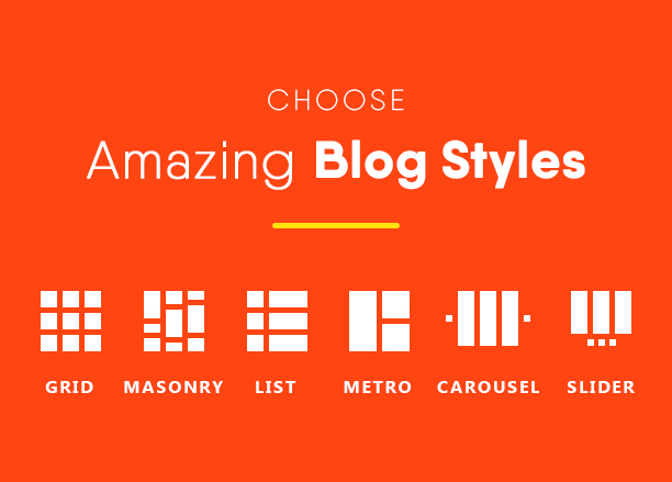 Choose Amazing Blog Styles - Blogmentor Pro for Elementor